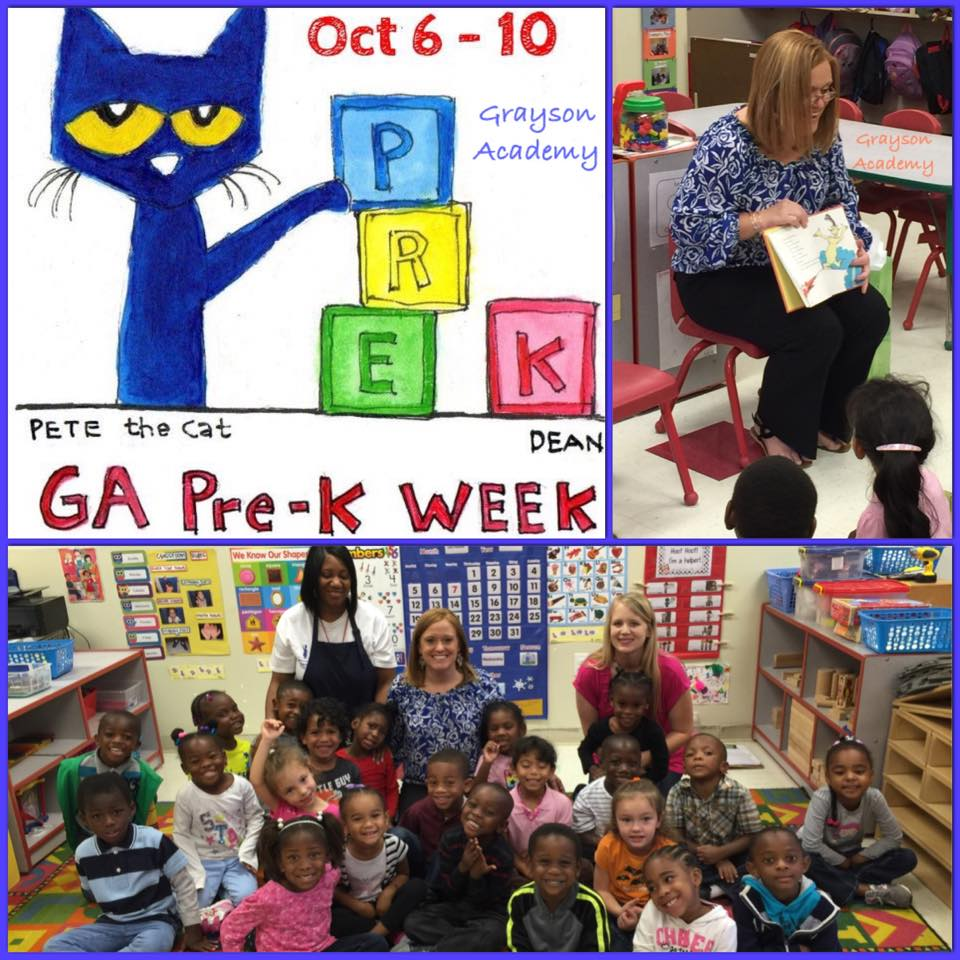 GA Pre-K Week with Mayor Allison Wilkerson
